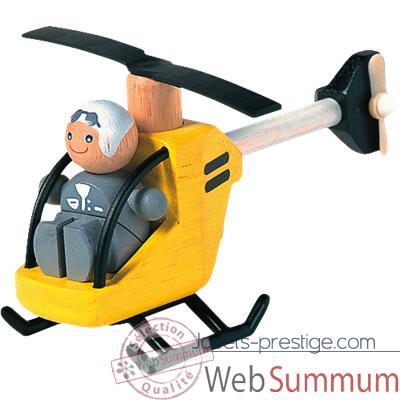 Simulateur de tir 4078plan_toys_jouet_bois_helicoptere_pilote_6060