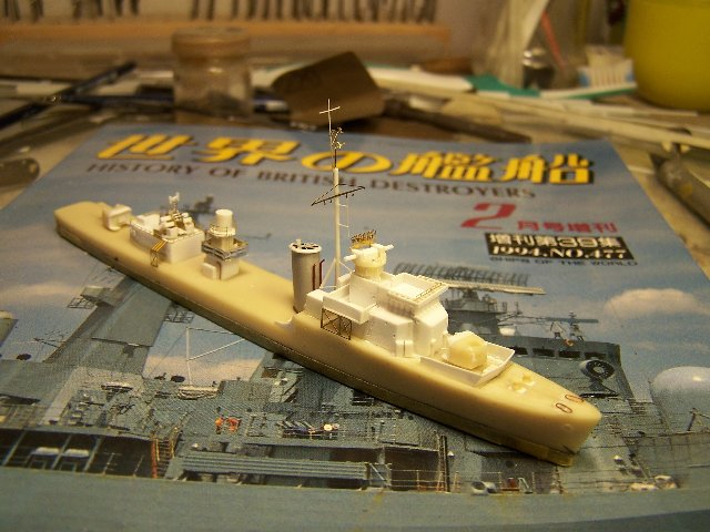Hms Warspite airfix 1/600 - Page 3 57140hmswarspite088