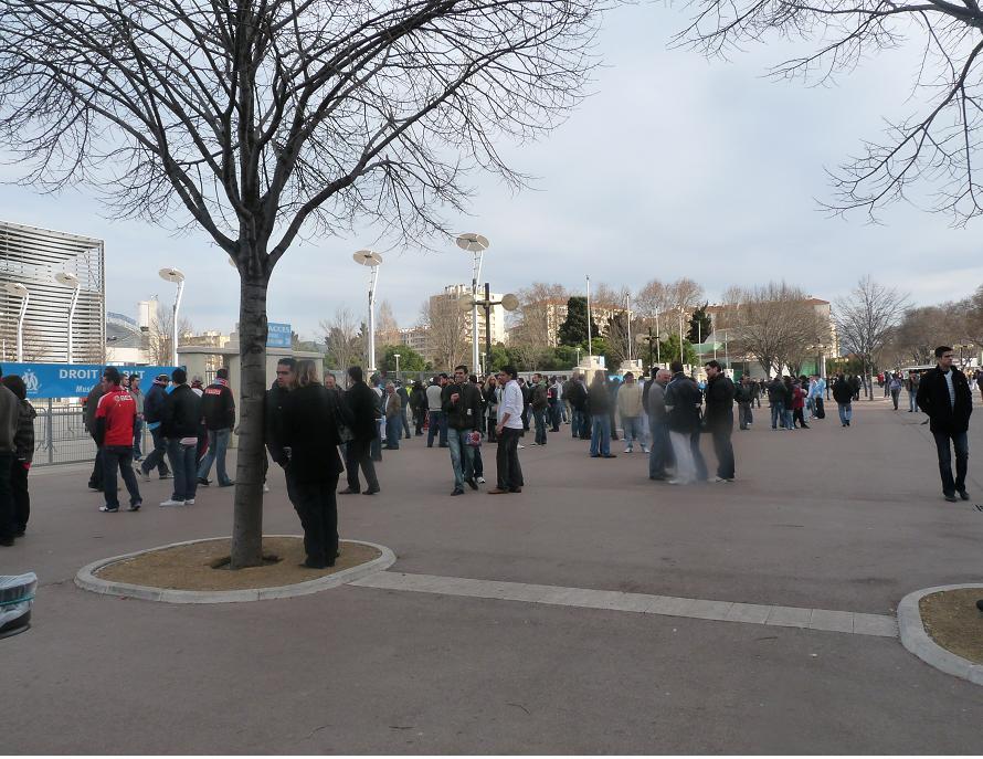 OM //BENFICA ...PHOTOS VIDEOS ..LA DESILLUSION EUROPEENNE 592424P1070388