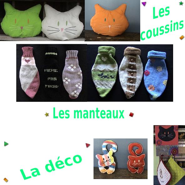 Accessoires chats et chiens faits mains. 598259annonces_domi