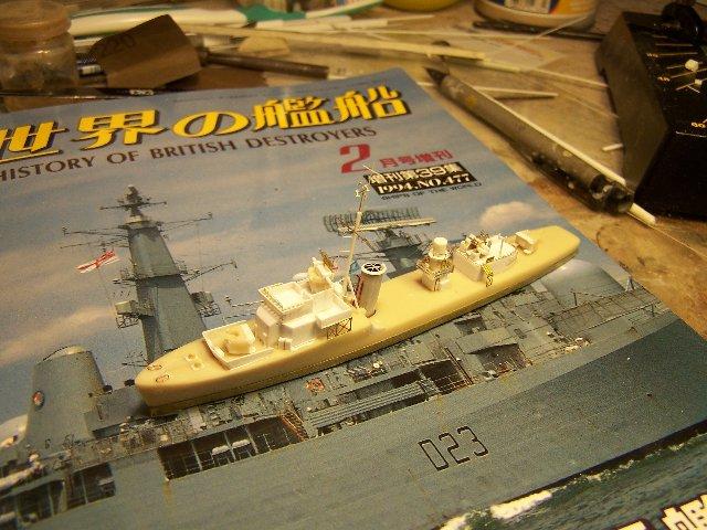 Hms Warspite airfix 1/600 - Page 3 606773hmswarspite089