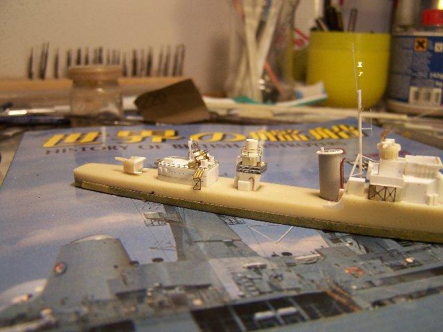 Hms Warspite airfix 1/600 - Page 3 673171hmswarspite087