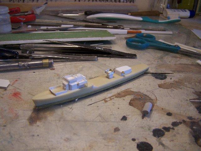 Hms Warspite airfix 1/600 - Page 3 674395hmswarspite085