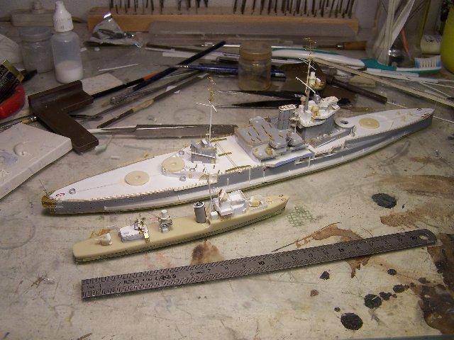 Hms Warspite airfix 1/600 - Page 3 687203hmswarspite093