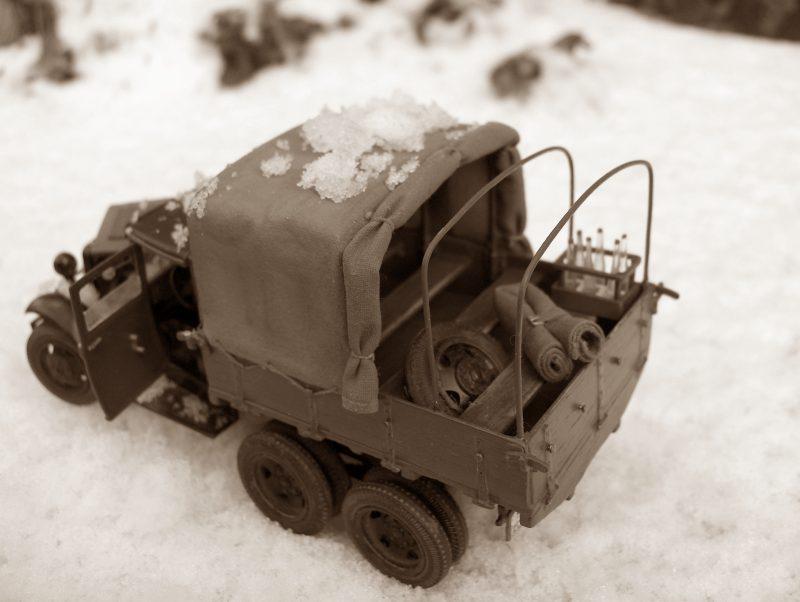Camion Russe  GAZ-AAA 1934/1943 Zvezda 1/35 terminé!!! 71548HPIM1729.2