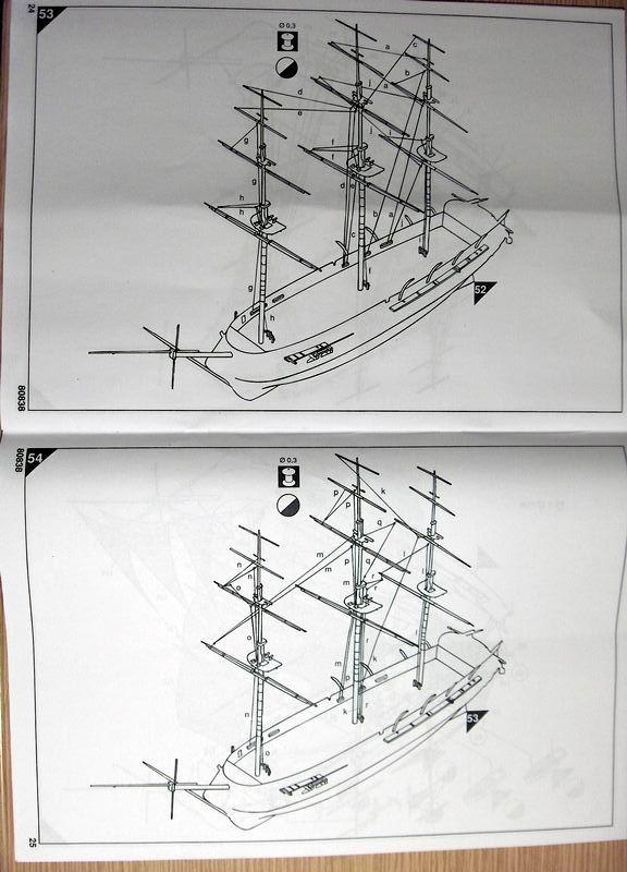 Frégate Belle Poule 1834 (Heller 1/200°) par Christophe 840473HPIM0530