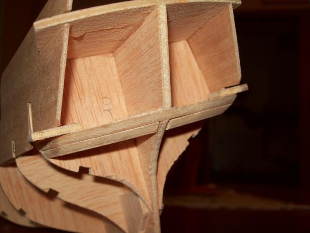 La construction du Corsaire 89160maquette_3_005