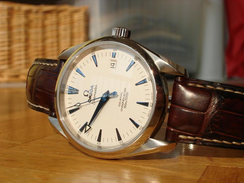Bracelet pour Aquaterra aiguilles bleues 897392DSC06721