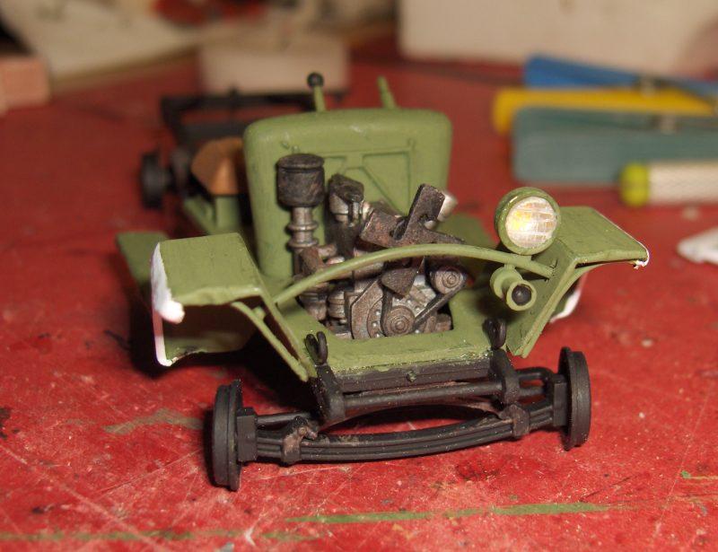 Camion Russe GAZ-MM de 1943 Zvezda 1/35 937286HPIM1738