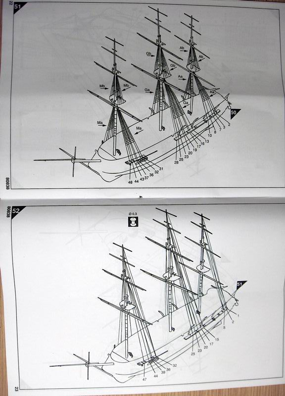 Frégate Belle Poule 1834 (Heller 1/200°) par Christophe 94688HPIM0529