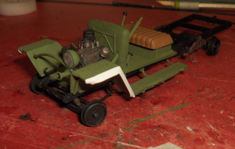 Camion Russe GAZ-MM de 1943 Zvezda 1/35 987190HPIM1740