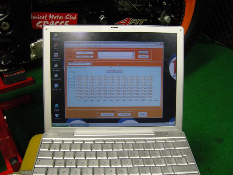Programmer un CIR avec un MAC 10365SNC12880
