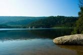 Le lac au rocher