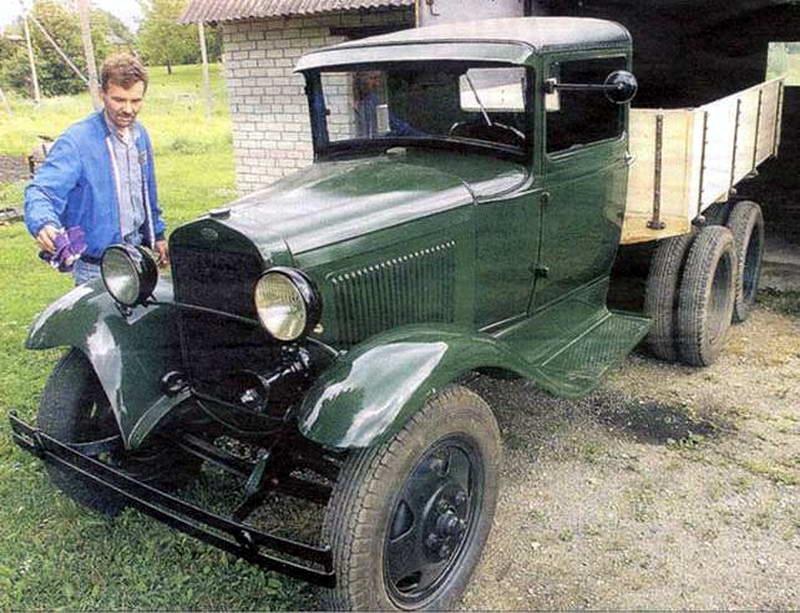 Camion Russe  GAZ-AAA 1934/1943 Zvezda 1/35 terminé!!! 138814GAZAAA_RainVaikla