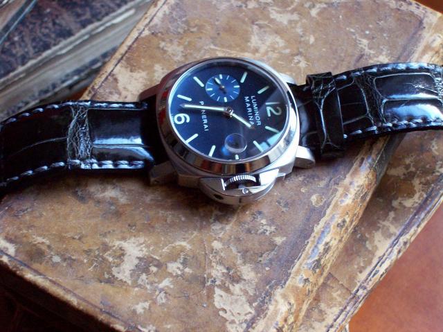 "Bracelet croco marron ou ""façon""? 14356Panerai_2"