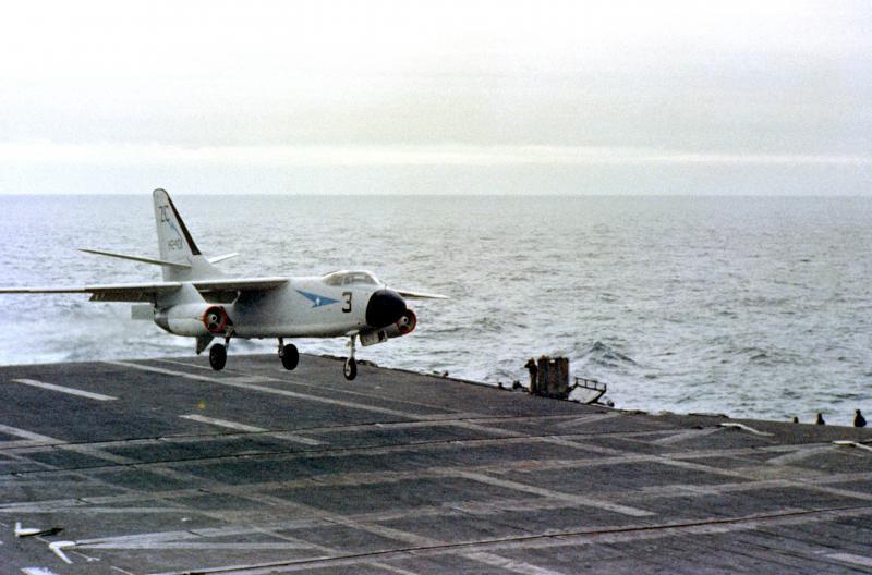 DOUGLAS A-3 SKYWARRIOR 145006A3D_2_Skywarrior_VAH_6_April1958_USS_Ranger