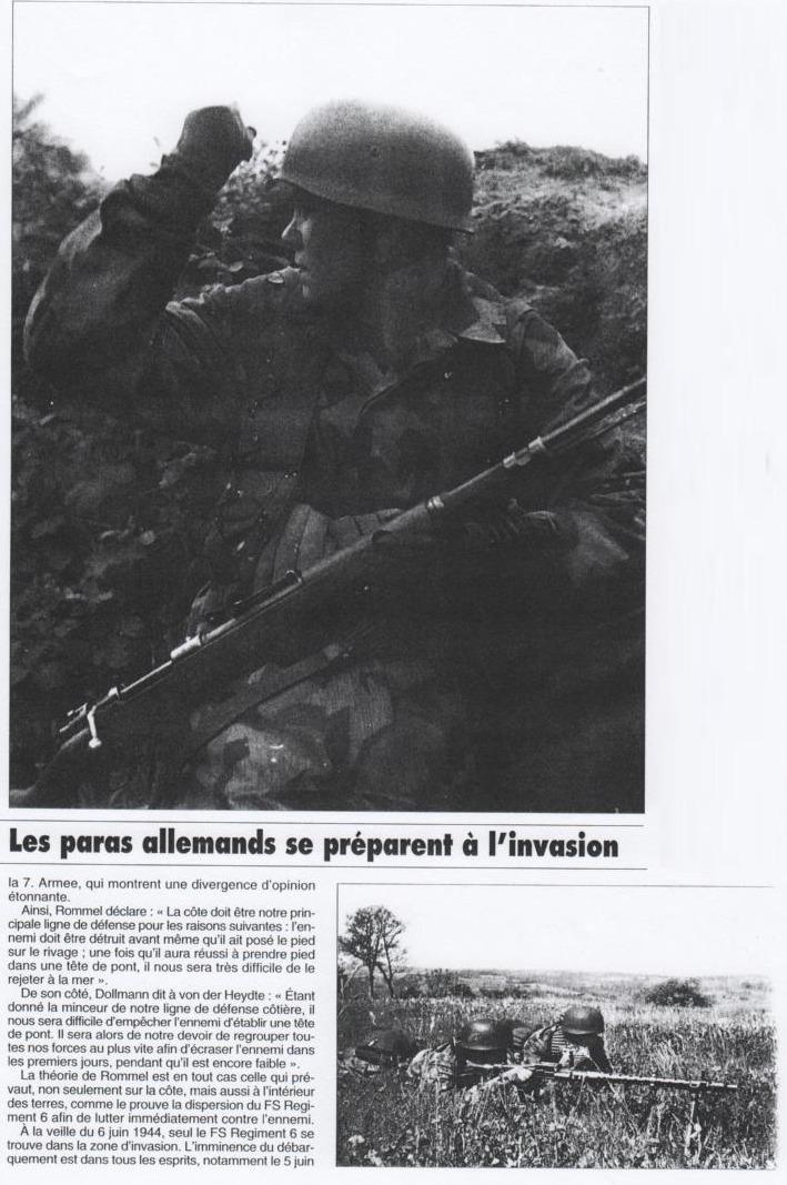Les fallschirmjager en photos; II 15086314