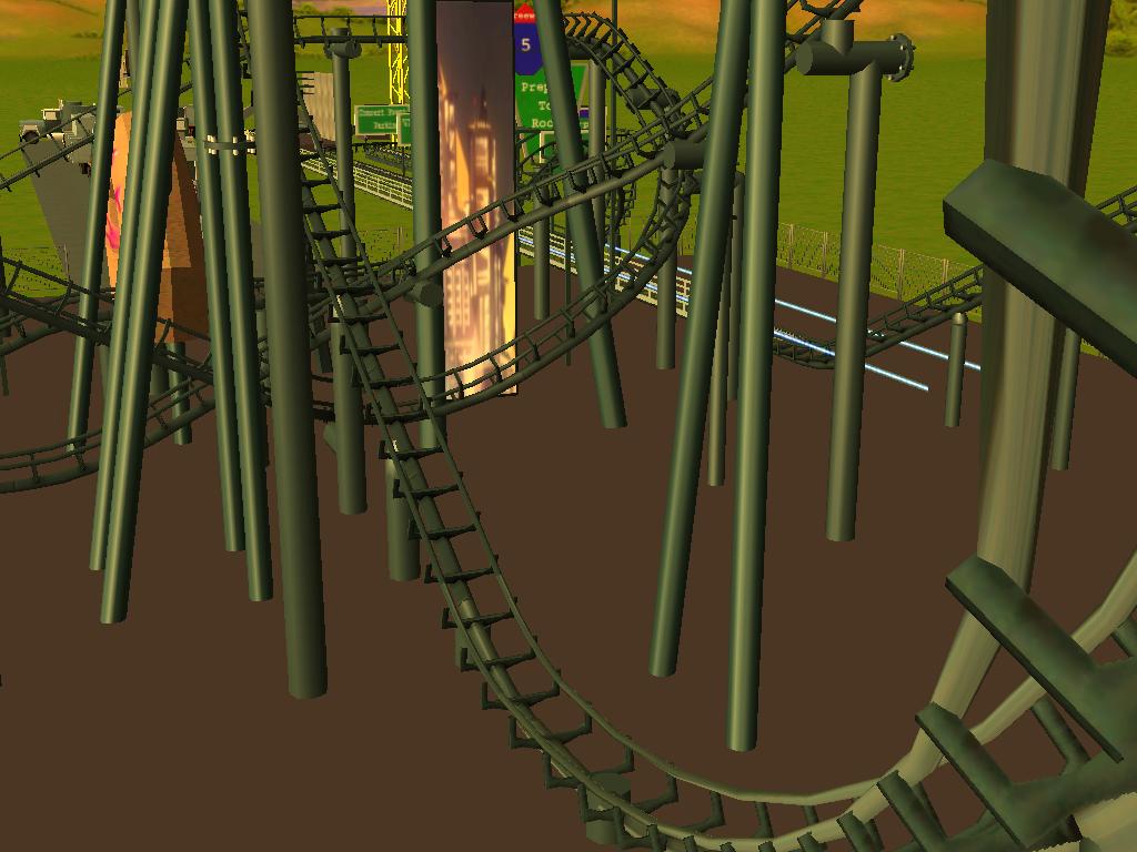 les attractions disney les meilleurs sur roller coaster tycoon 3 - Page 5 157395Shot0544