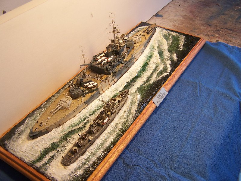 Hms Warspite par OrionV au 1/600 - airfix  17997hmswarspite113