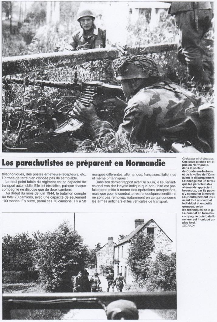 Les fallschirmjager en photos; II 19931612