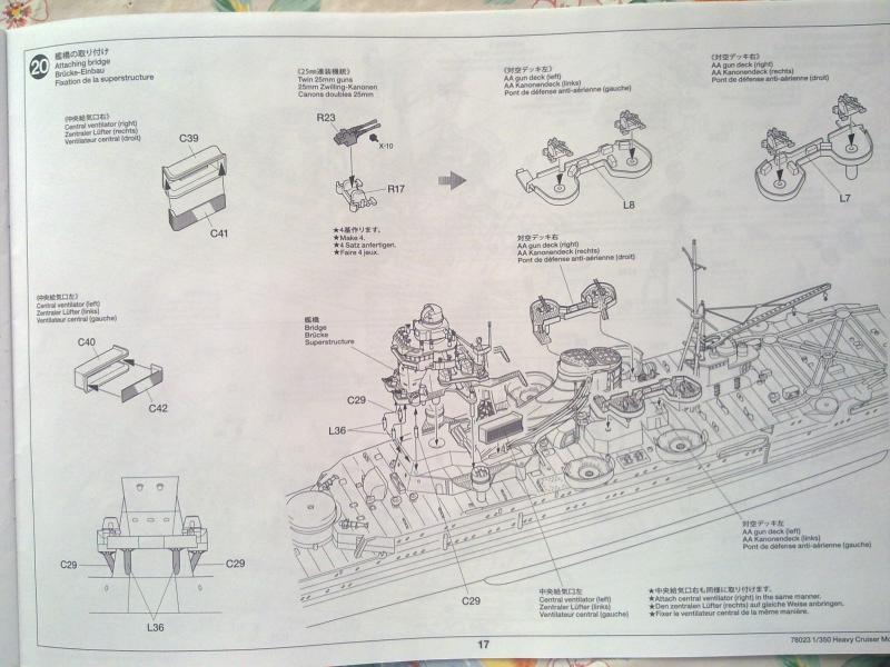 croiseur lourd Mogami au 1/350 par Pascal 94 - Tamiya  20087306092010664