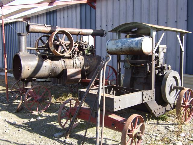 tracteur à vapeur 206071aout_2008_541_Collection_de_M.Delaunay