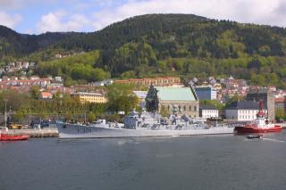 USN DESTROYERS D'ESCORTE CLASSE DEALEY 208353HNoMS_Bergen
