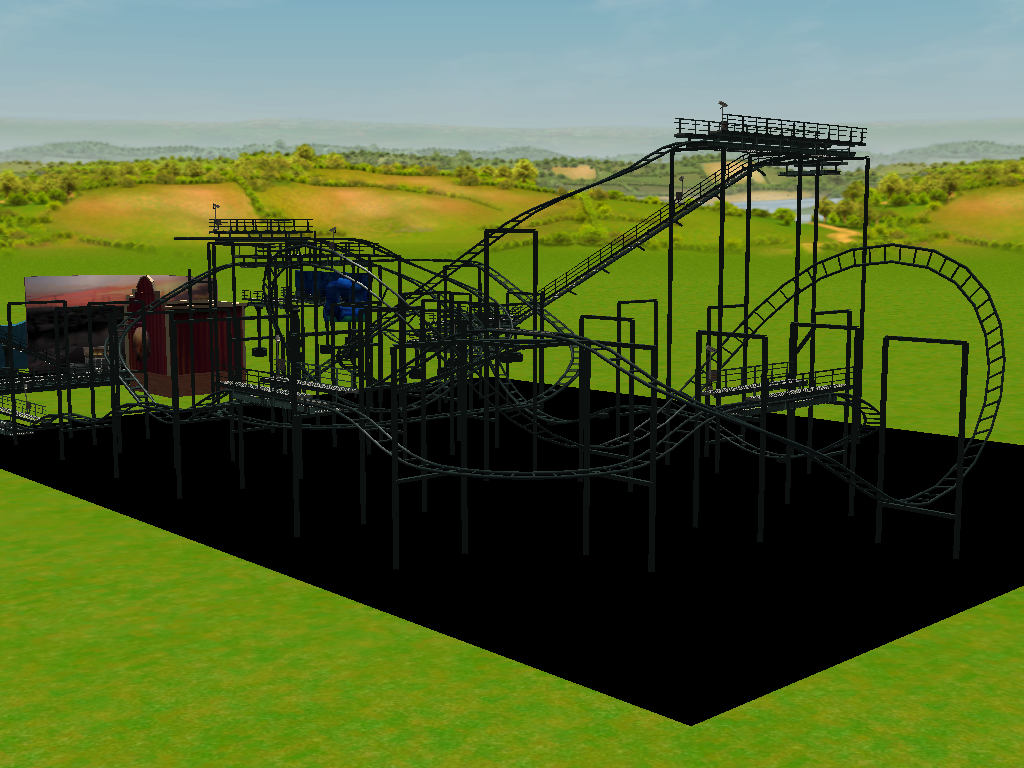 les attractions disney les meilleurs sur roller coaster tycoon 3 - Page 4 249652Shot0318