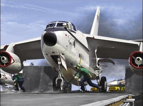 DOUGLAS A-3 SKYWARRIOR 254755EA_3B_Skywarrior