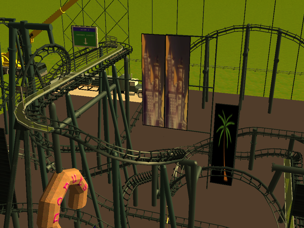 les attractions disney les meilleurs sur roller coaster tycoon 3 - Page 5 265837Shot0543