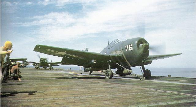 GRUMMAN F6F HELLCAT 300392F6F_5K_drone_USS_Boxer_Aug1952