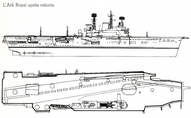 ROYAL NAVY PORTE-AVIONS CLASSE AUDACIOUS 330601HMS_Ark_Royal_2