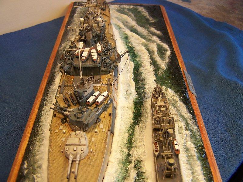 Hms Warspite par OrionV au 1/600 - airfix  33084hmswarspite116