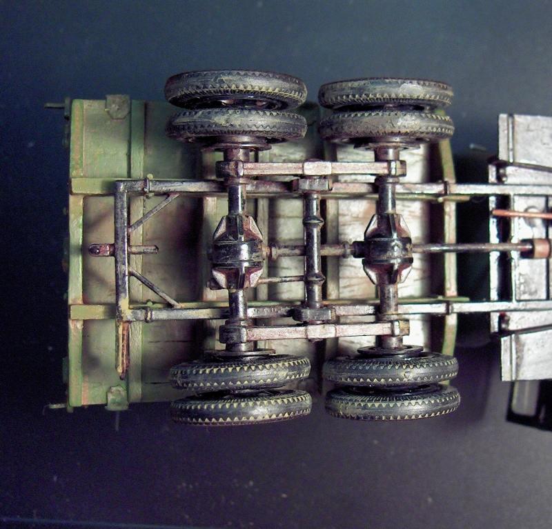 Camion Russe  GAZ-AAA 1934/1943 Zvezda 1/35 terminé!!! 34913HPIM1656