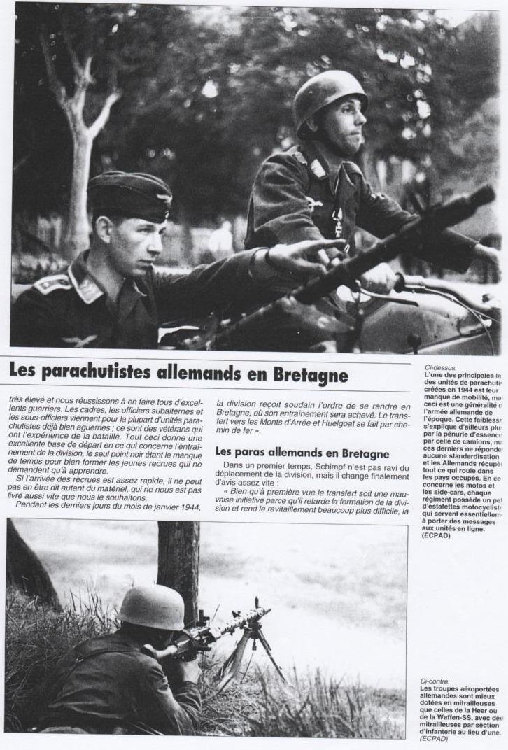 Les fallschirmjager en photos; II 3501973