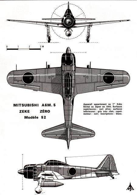 MITSUBISHI A6M ZEKE 368965A6M5_Type_52_3