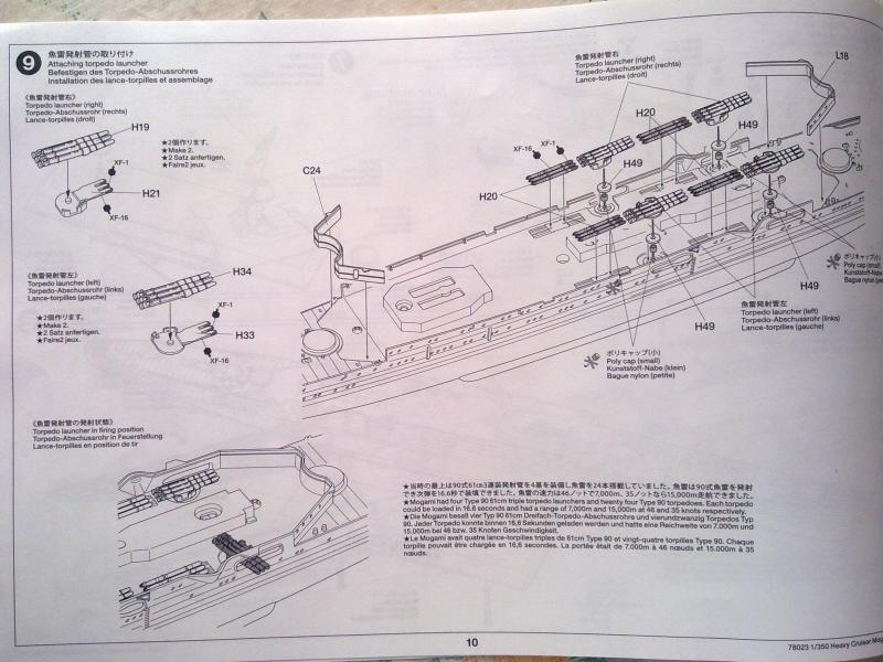 croiseur lourd Mogami au 1/350 par Pascal 94 - Tamiya  41055906092010657
