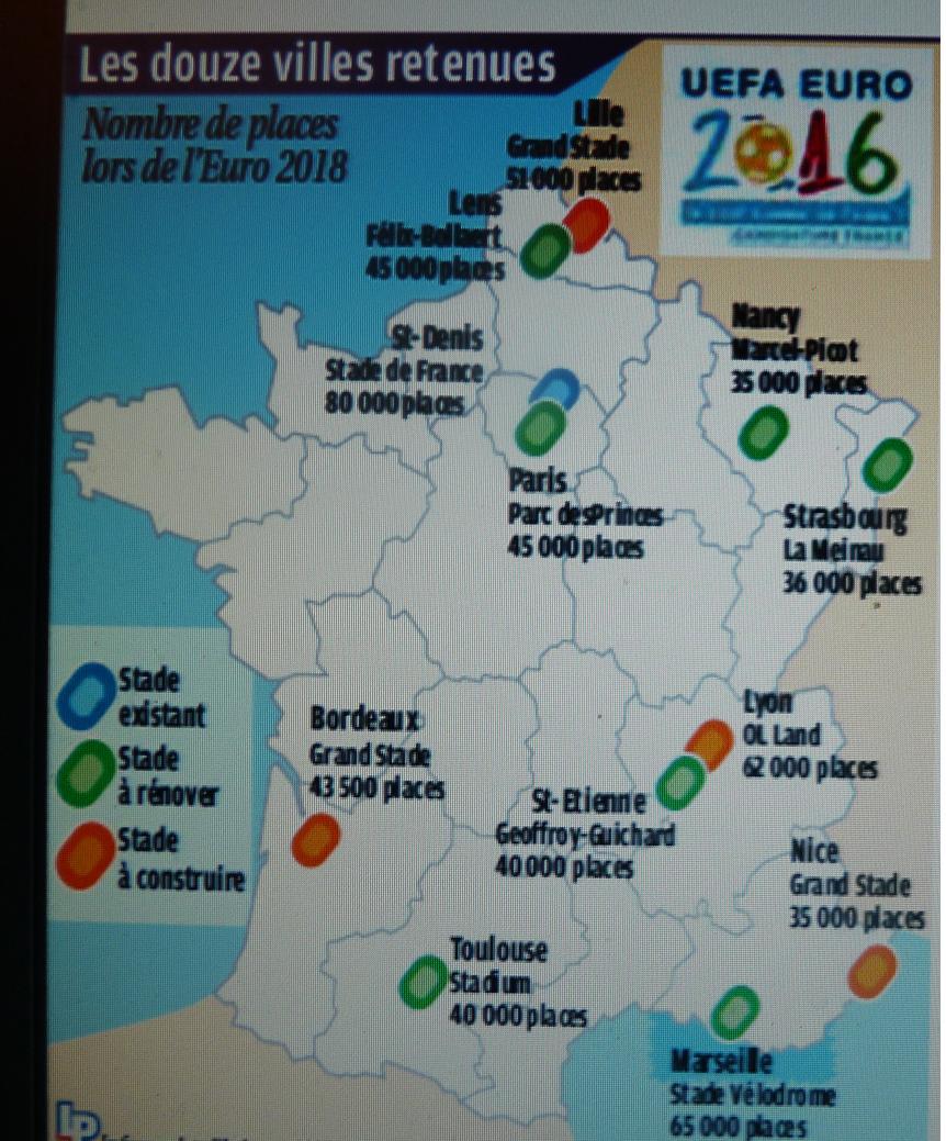 EURO 2016 EN FRANCE CA SE RAPPROCHE  413079P1090063