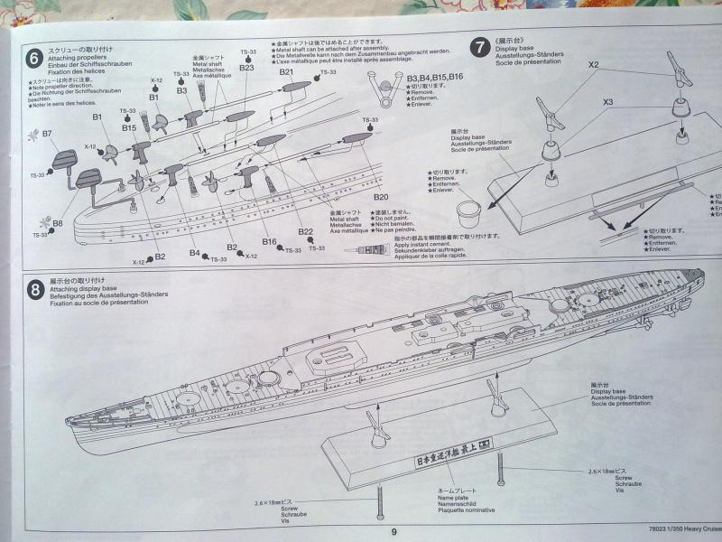 croiseur lourd Mogami au 1/350 par Pascal 94 - Tamiya  41369106092010656