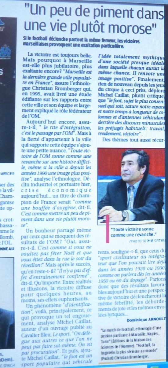 """LA CAVERNE DES TROPHEES DE L""""OM - Page 2 421478P1080481"""