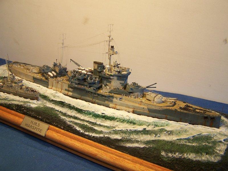 Hms Warspite par OrionV au 1/600 - airfix  433930hmswarspite122