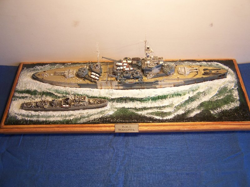 Hms Warspite par OrionV au 1/600 - airfix  439809hmswarspite110