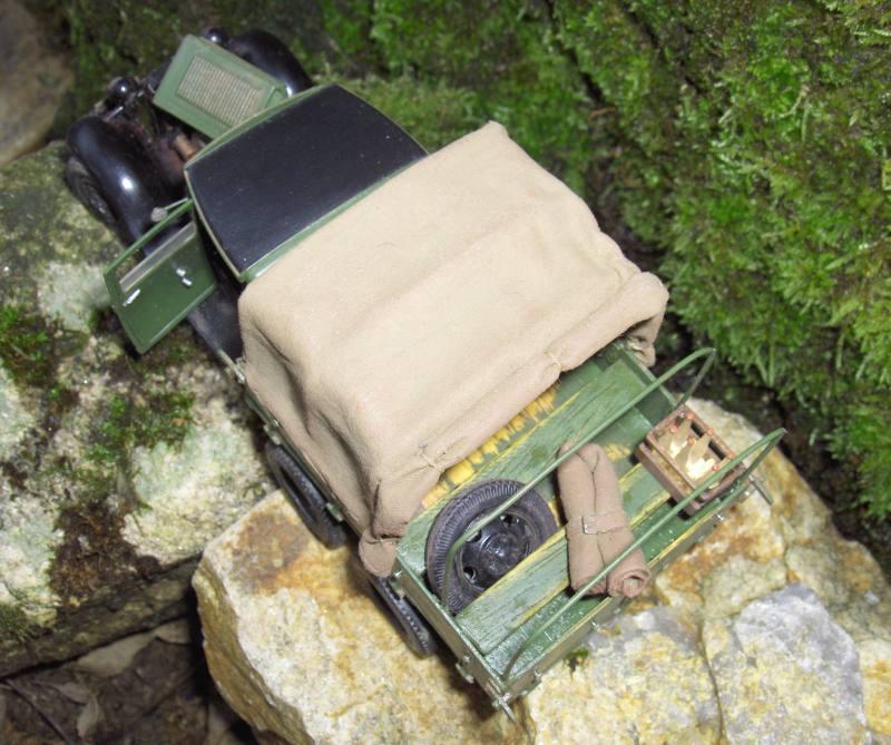 Camion Russe  GAZ-AAA 1934/1943 Zvezda 1/35 terminé!!! 440354HPIM1648