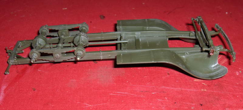Camion militaire Russe GAZ-AAA  (3-Axel)WWII  Zvezda 1/35 450814HPIM1107