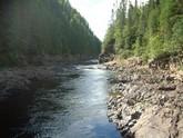 La rivière rapide