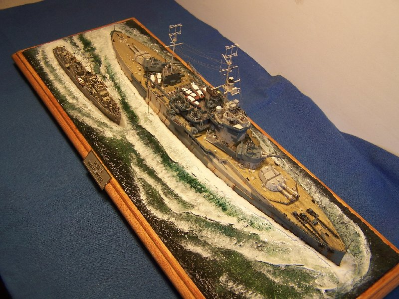 Hms Warspite par OrionV au 1/600 - airfix  487950hmswarspite124