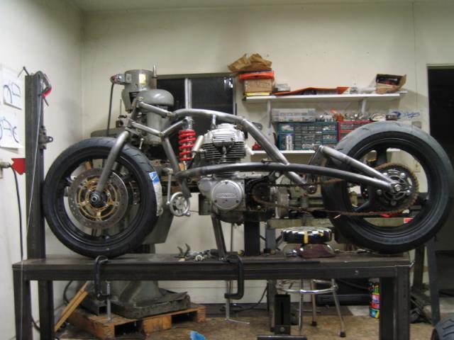 Honda - Jason Tiedeken's CB 360 488195CanyonCarver010