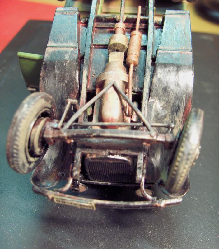 Camion Russe  GAZ-AAA 1934/1943 Zvezda 1/35 terminé!!! 491115HPIM1659