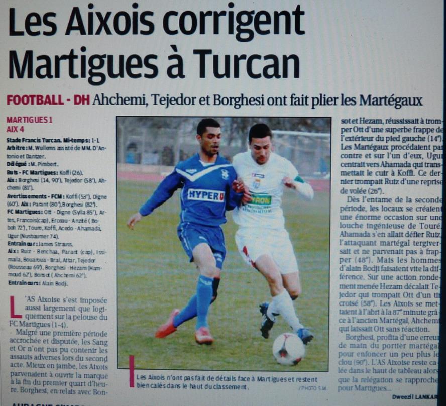 Pays d'Aix FC  AIX-EN-PROVENCE // PH  - Page 2 499317P1080082