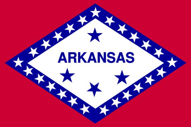 USN CUIRASSES CLASSE WYOMING 499598744px_Flag_of_Arkansas_svg